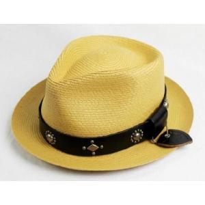 sale セール (Hollywood Trading Company) #LCS-4 with SEWN BRAID PINCH FEDORA HAT BAMBOO バンブー|threewoodjapan