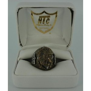 sale セール HTC(Hollywood Trading Company) #MR-IBO Mexican Ring(メキシカンリング) INDIAN(インディアン) Bronze Oval Body threewoodjapan