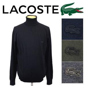 LACOSTE (ラコステ) AH299E Sweaters マシンウォッシャブル セーター 長袖 全4色 LC084 threewoodjapan