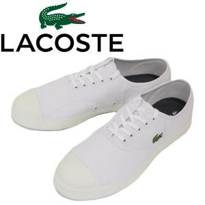 LACOSTE (ラコステ) RENE 117 1 ルネ キャンバススニーカー 001-WHITE LC090 threewoodjapan