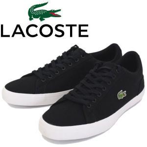 LACOSTE (ラコステ) MCM033 LEROND(ルロン) BL 2 キャンバススニーカー 024-BLACK LC101 threewoodjapan