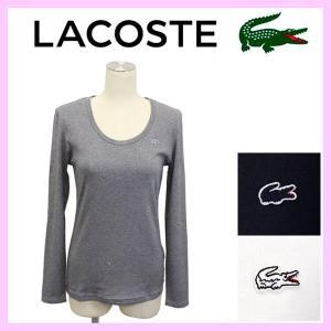 LACOSTE (ラコステ) TF641E WOMEN'S ROUND NECK T-SHIRTS LONG (レディース ラウンドネック Tシャツ 長袖)  LC080 全3色 threewoodjapan