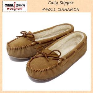MINNETONKA(ミネトンカ) Cally Slipper(キャリースリッパ) #4011 CINNAMON レディース MT262