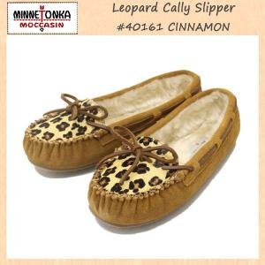 MINNETONKA(ミネトンカ) Leopard Cally Slipper(レオパードキャリースリッパ) #40161 CINNAMON レディース MT268