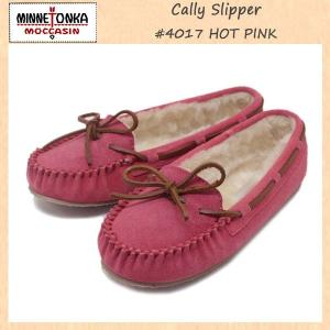 MINNETONKA(ミネトンカ) Cally Slipper(キャリースリッパ) #4017 HOT PINK レディース MT266