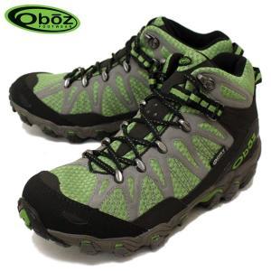 Oboz(オボズ) MEN'S TRAVERSE MID BDRY(メンズトラバースミッド) トレッキングシューズ Fluorite フローライト(グリーン) OB004|threewoodjapan