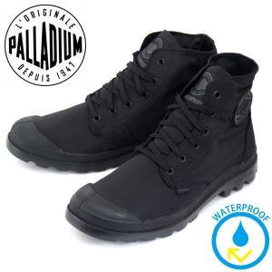 PALLADIUM (パラディウム) 73085-060 Pampa Puddle Lite WP (パンパパドルライト) レインシューズ スニーカー Black/Black PD110 threewoodjapan