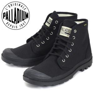 PALLADIUM (パラディウム) 75349-060 Pampa Hi パンパハイ オリジナーレ スニーカー Black/Black PD102 threewoodjapan