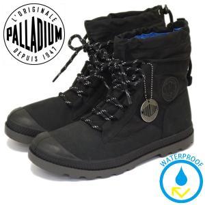 PALLADIUM (パラディウム) 95169-008 Women's Pampa Hi Blitz LP (パンパハイ ブリッツ) レインシューズ レディーススニーカー Black PD099 threewoodjapan