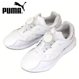 PUMA (プーマ) 360078-02 DISC BLAZE CELL (ディスクブレイズセル) スニーカー ホワイト/ホワイト PM164|threewoodjapan