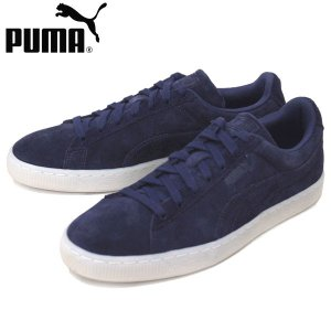 PUMA (プーマ) 360850 SUEDE CLASSIC COLORED (スウェードクラシック) ローカットスニーカー 01 ピーコート/ホワイト PM156|threewoodjapan
