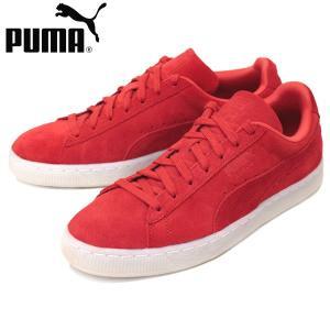 PUMA (プーマ) 360850 SUEDE CLASSIC COLORED (スウェードクラシック) ローカットスニーカー 02 ハイリスクレッド/ブラック PM157|threewoodjapan
