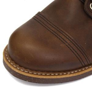 RED WING(レッドウィング) 8111 IRON RANGE BOOTS(アイアンレンジブーツ) Amber Harness Leather|threewoodjapan|04