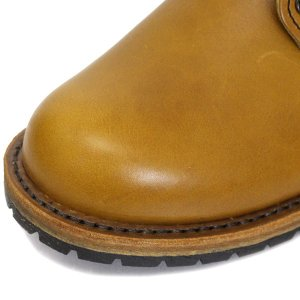 RED WING(レッドウィング)9013 BECKMAN ROUND BOOTS(ベックマンラウンドブーツ)Chestnut Feather stone Leather|threewoodjapan|06