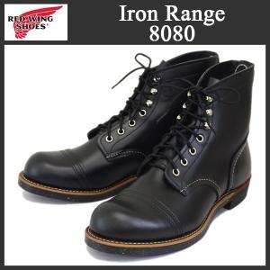 2016-2017年 新作 RED WING (レッドウィング) 8080 Iron Range Boots (アイアンレンジブーツ) キャップドトゥ ブラッククローム|threewoodjapan