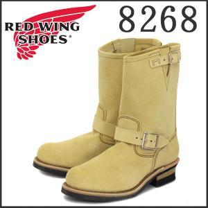 Red Wing(レッドウィング レッドウイング)8268 ENGINEER BOOTS(エンジニアブーツ) ベージュ・ラフアウト(スエード) threewoodjapan