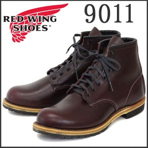 RED WING レッドウイング 9011 BECKMAN ROUND BOOTS(ベックマンラウンドブーツ) Black Cherry Feather stone Leather|threewoodjapan