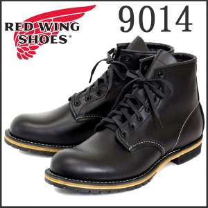 RED WING レッドウイング 9014 BECKMAN ROUND BOOTS(ベックマンラウンドブーツ) Black Feather stone Leather|threewoodjapan