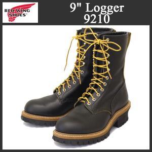 2016-2017年 新作 RED WING (レッドウィング) 9210 9inch Logger Boots (9インチロガーブーツ) スティールトゥ ブラッククロンダイク|threewoodjapan