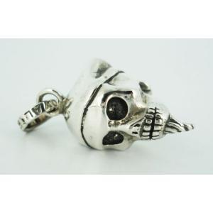 sale セール Royal Order(ロイヤルオーダー) Rock & Royal(ロックンロイヤル) Pirate Skull Pendant (パイレートスカルペンダント)|threewoodjapan