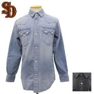 sale セール STANDARD CALIFORNIA (スタンダードカリフォルニア) SD Denim Western Shirt (デニムウエスタンシャツ) 全2色|threewoodjapan