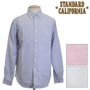sale セール STANDARD CALIFORNIA(スタンダードカリフォルニア) SD New Basic B.D. Shirt(ボタンダウンシャツ) 全3色|threewoodjapan