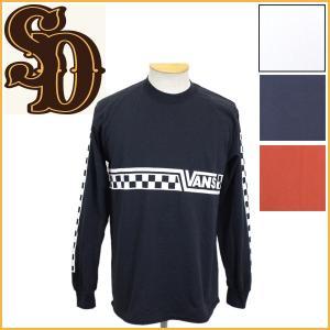 sale セール STANDARD CALIFORNIA (スタンダードカリフォルニア) VANS x SD Checker Logo L/S (ヴァンズ チェッカーロゴ ロングスリーブ Tシャツ) 全4色|threewoodjapan