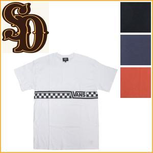 sale セール STANDARD CALIFORNIA (スタンダードカリフォルニア) VANS x SD Checker Logo (ヴァンズ チェッカーロゴ Tシャツ) 全4色|threewoodjapan