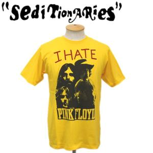 SEDITIONARIES by 666 (セディショナリーズ) I HATE PINK FLOYD Tシャツ イエロー STO081|threewoodjapan