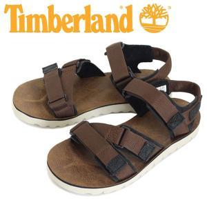 Timberland (ティンバーランド) A1A68 PIERCE POINT (ピアース ポイント サンダル) Medium Brown Nubuck TB038 threewoodjapan