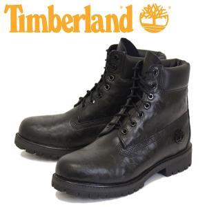 Timberland (ティンバーランド) ICON A1JD9 6in Premium Boot (アイコン シックスインチ プレミアム レザーブーツ) Black Cristalo Heicor TB042 threewoodjapan