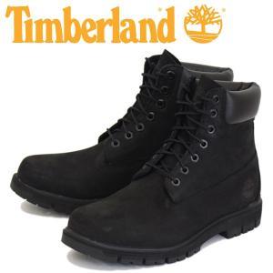 Timberland (ティンバーランド) A1JI2 RADFORD 6in WP Boot (ラドフォード ウォータープルーフ レザーブーツ) Black Waterbuck TB052 threewoodjapan