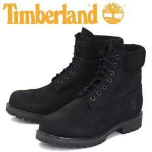 Timberland (ティンバーランド) ICON A1M3K 6in Premium Boot (アイコン シックスインチ プレミアム レザーブーツ) Jet Black Vecchio TB046 threewoodjapan