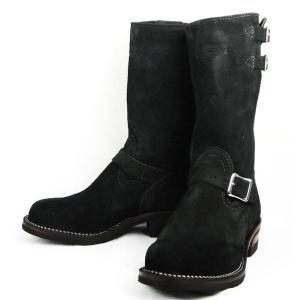 Wescoウエスコ Boss ボス Black Rough Outブラックラフアウト,11height,#430 sole,2straps, BS18|threewoodjapan