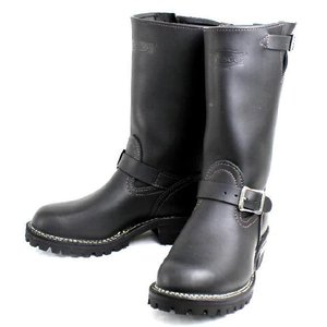 Wescoウエスコ Boss ボス Black,11height,#100 sole,Black ink,Nickle Buckle BS53|threewoodjapan