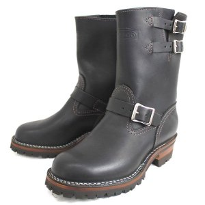 Wescoウエスコ Boss ボス Black ブラック,9height,#100 sole,2straps,エンジニアブーツ BS68|threewoodjapan