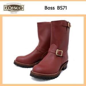Wescoウエスコ Boss ボス RedWood レッドウッド,9height,#100sole,エンジニアブーツ BS71|threewoodjapan
