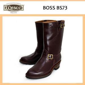 Wescoウエスコ Boss ボスBurgandy Leather,11height,#430sole,Nickel Bucles BS73|threewoodjapan