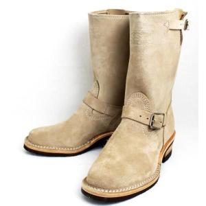 Wescoウエスコ 10inch Height Narrow Engineer Boots ナローエンジニアブーツ Burlap Rough Out|threewoodjapan