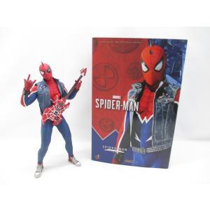 ホットトイズ Marvel's Spider-Man スパイダーマン(スパイダー・パンク・スーツ版)...