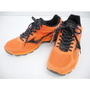 《スポーツ》MIZUNO ミズノ ウェーブエアロ II ランニングシューズ オレンジ SIZE:26.0cm【中古】|thrift-webshop