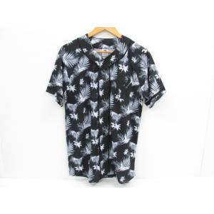 MAJESTIC マジェスティック ベースボールシャツ MLB ニューヨークヤンキース ボタニカル柄 MM21-NYK-0011 SIZE:M|thrift-webshop