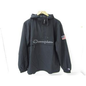 Champion チャンピオン アノラックパーカー フード ナイロン ハーフジップ C3-L609 SIZE:L thrift-webshop