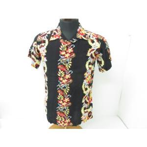 《メンズトップス》HOUSTON ヒューストン 半袖 アロハシャツ ウクレレ SIZE:FREE|thrift-webshop