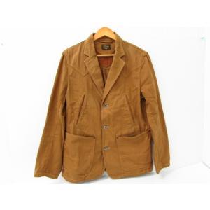 《メンズアウター》GERUGA ゲルガ テーラードジャケット ブラウン SIZE:4|thrift-webshop