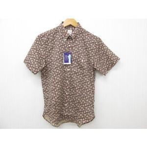 MAJUN マジュン かりゆしウェア 半袖 総柄 SIZE:2|thrift-webshop