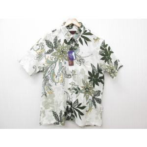 MAJUN マジュン リバースワールド かりゆしウェア 半袖 SIZE:XXXL|thrift-webshop