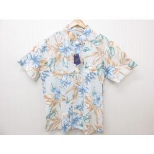 MAJUN マジュン ハイビリーフ かりゆしウェア 半袖 SIZE:5L|thrift-webshop