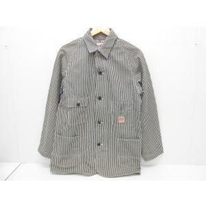 SUGAR CANE シュガーケーン ヒッコリーストライプカバーオール SIZE:38|thrift-webshop