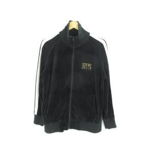 東洋エンタープライズ ベロア地 トラックジャケット 刺繍 TT62420 SIZE:M|thrift-webshop